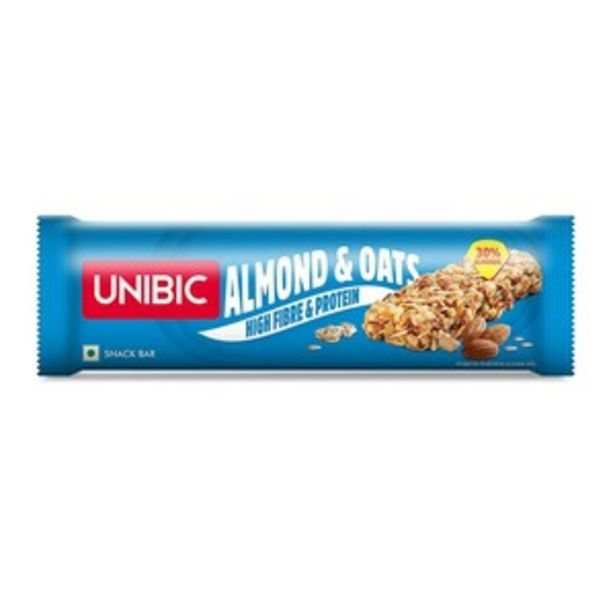 Unibic Almond & Oat Snack Bar 30g offer at ? 40