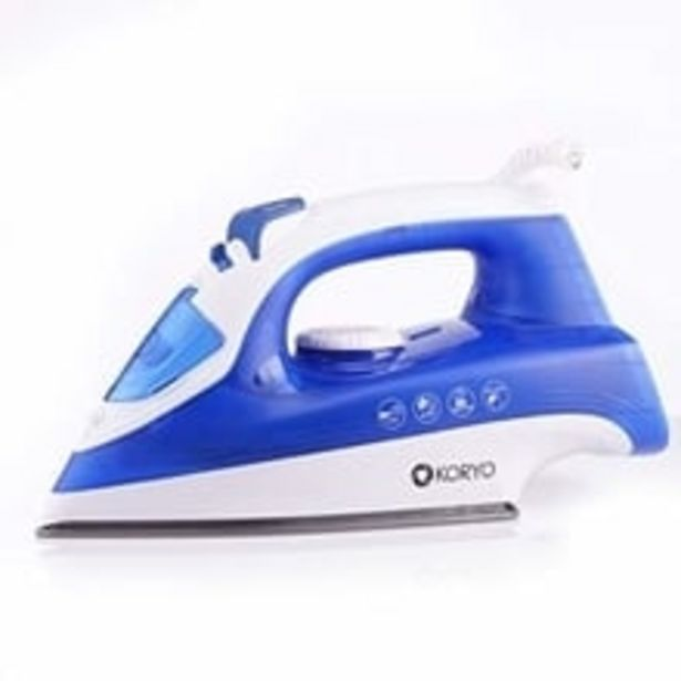 Steam Iron KSW416XADB 1600W with Vertical Steaming and Self Cleaning Technology (Blue) offer at ? 1099