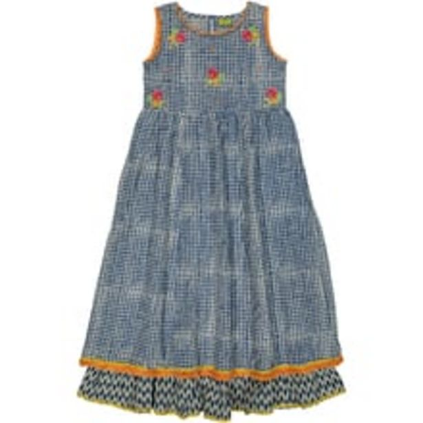 Printed Cotton Girls Dress offer at ? 1299