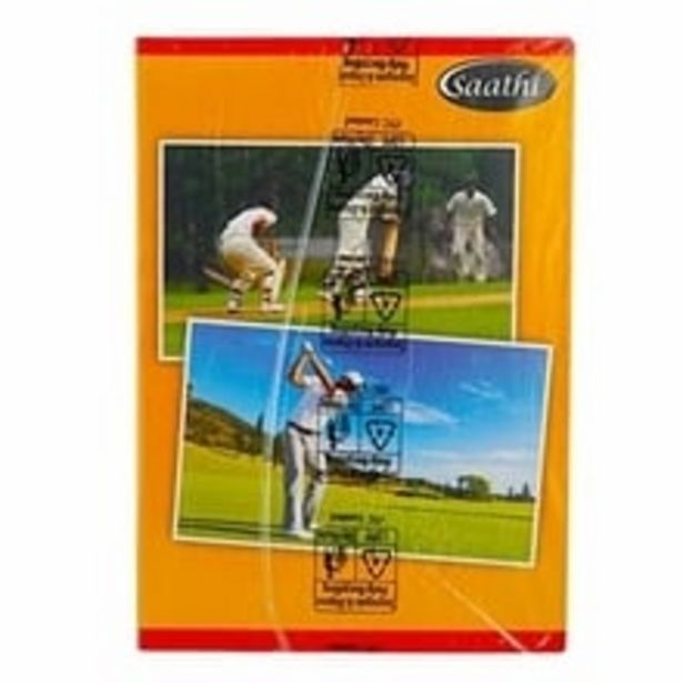 ITC SAATHI Single Line LONGBOOK 297x210 140PG Pack Of 6 offer at ? 225