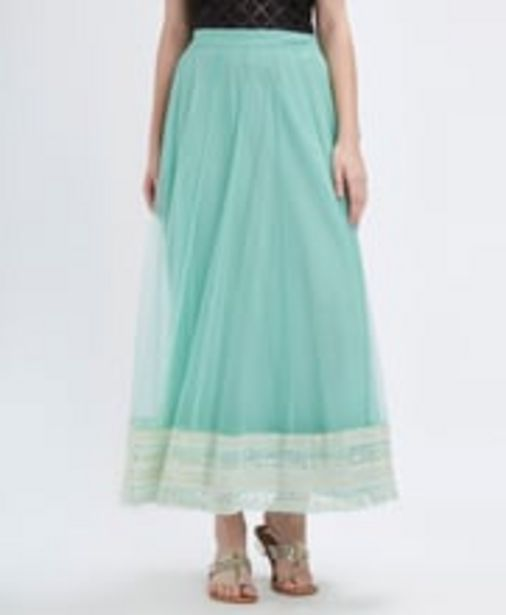 Mid Rise Lace Skirt offer at ? 779.4