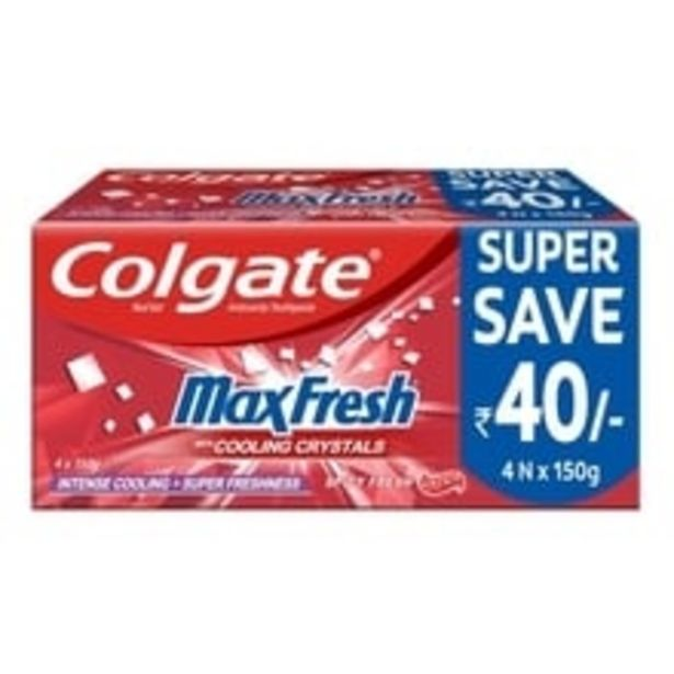 Toothpaste Gel Spicy Red offer at ? 256