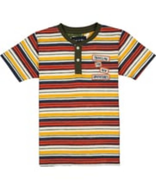 Boys White Print Polo T-shirt offer at ? 399