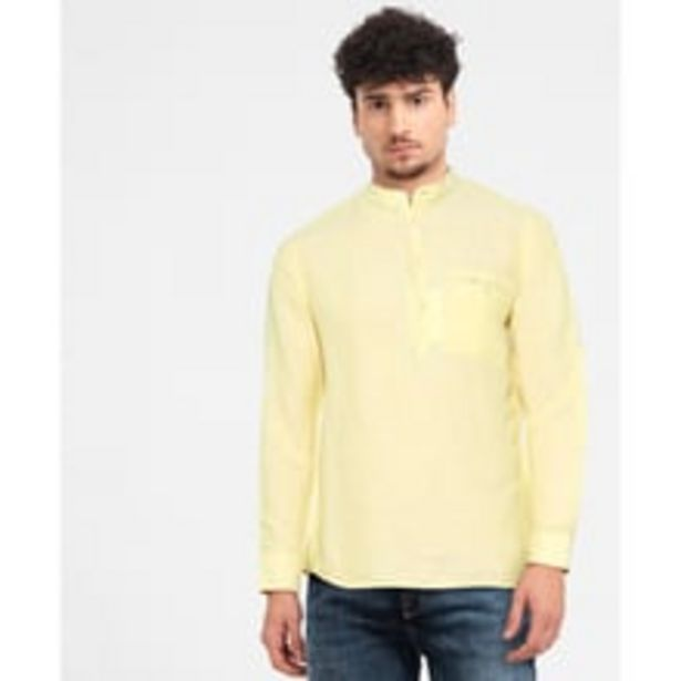 Mens Solid Casual Shirt offer at ? 1049
