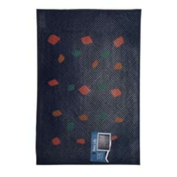 Printed Rubber Pin Mat L - Navy offer at ? 179.1