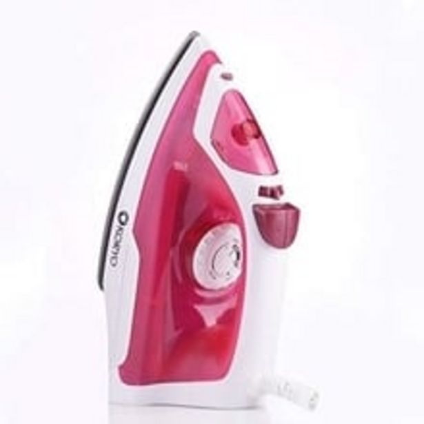 Steam Iron KSW412XR 1250W with Vertical Steaming (Red) offer at ? 699