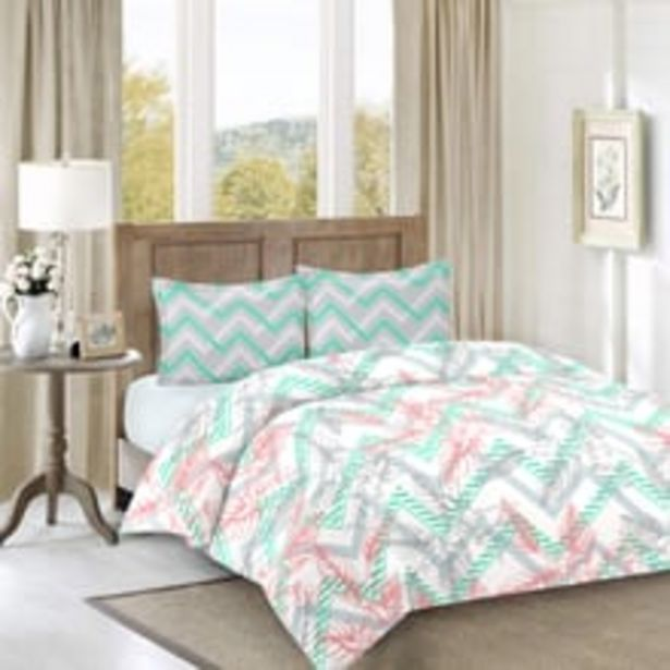 Raymond SilverBell Double Aqua Green With 2 Pillow Cover offer at ? 799
