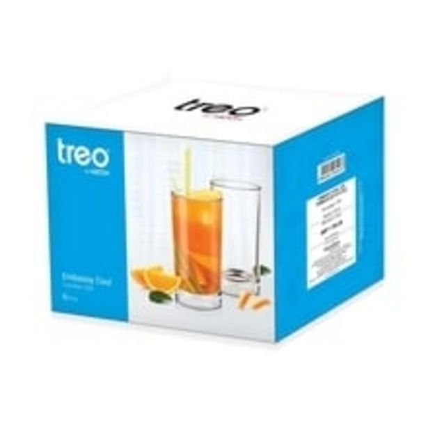Glass Water Tumbler Set - Embassy Cool offer at ? 355.5