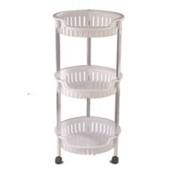 Multi-purpose Trolley - Essential, 3 Shelves, Round offer at ? 599