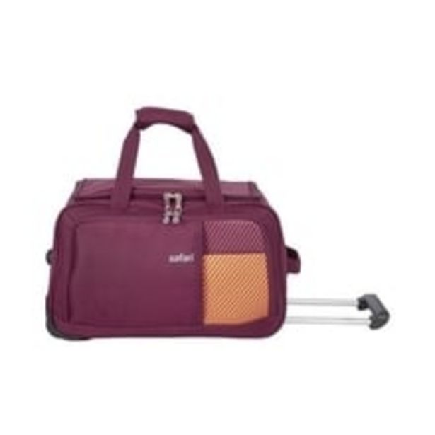 Shrill 65 cm Polyester Duffle Bag on Wheel (Red) offer at ? 2200