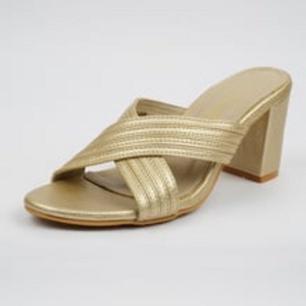 Womens Sandals Gold offer at ? 699