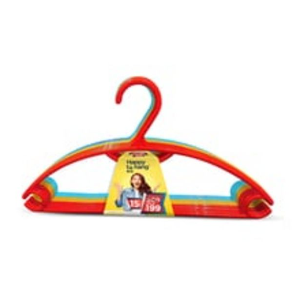 Hanger - Happy to Hang, 15pc Set, Assorted, Plastic offer at ? 229
