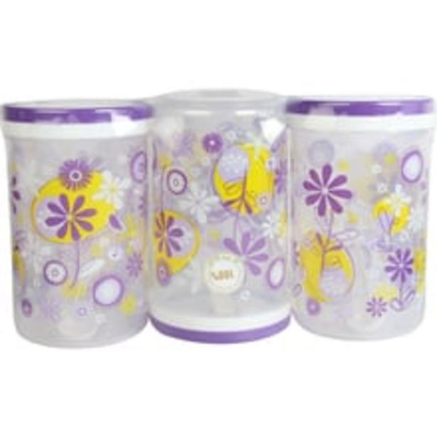 Container - Easy Spin, Printed, Set of 3 offer at ? 315