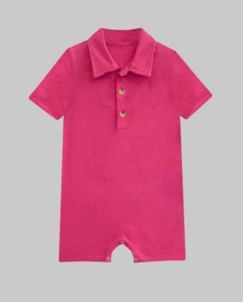 Fuchsia Button Up Romper offer at ? 400