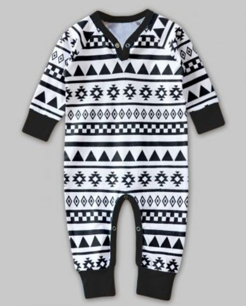 Aztec Print with Black Binding Playsuit offer at ? 400