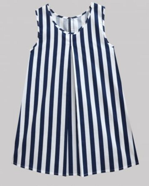 Navy White Stripe Women's Pleated Top offer at ? 500