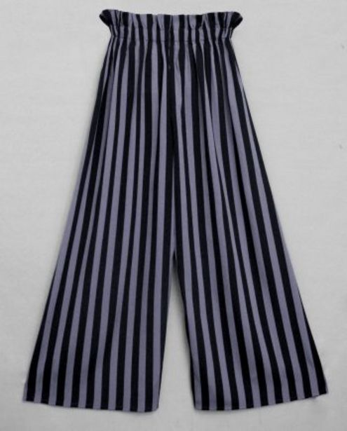 Charcoal Black Stripe Women's Palazzo offer at ? 649