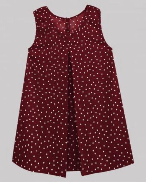 Maroon Polka Dot Women's Pleated Top offer at ? 500